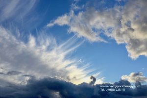 Are you feeling stressed sky photo Neil Cox Hypnotherapy