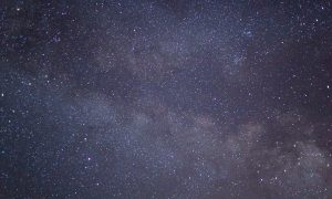 Photo of millions of stars and Milky Way whilst you are going to sleep